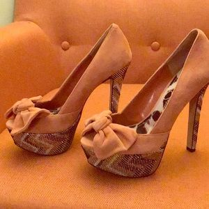 New Jessica Simpson platform stilettos